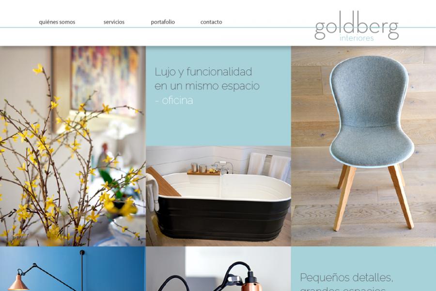 Goldberg interiores contorno dise o estudio de dise o for Diseno de interiores y marketing